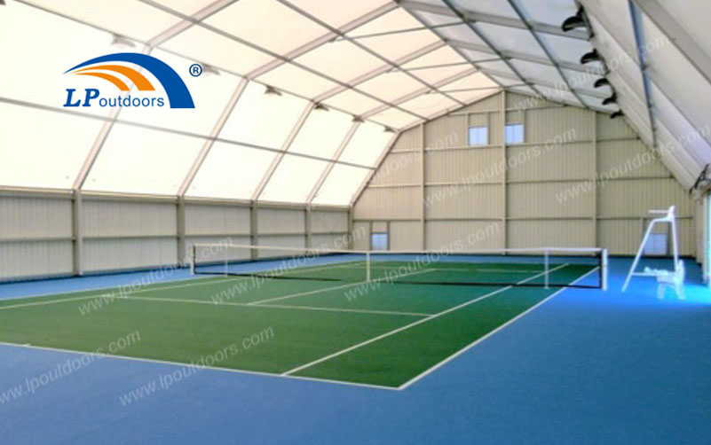 Temporary Fabric Structure Canopy Cover Polygon Tent for Outdoor Sports Venue
