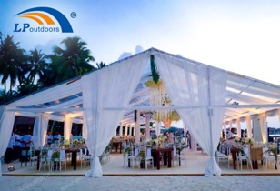 Transparent Sky Screen Outdoor High-end Wedding Garden Tent Brings More Possibilities for Events