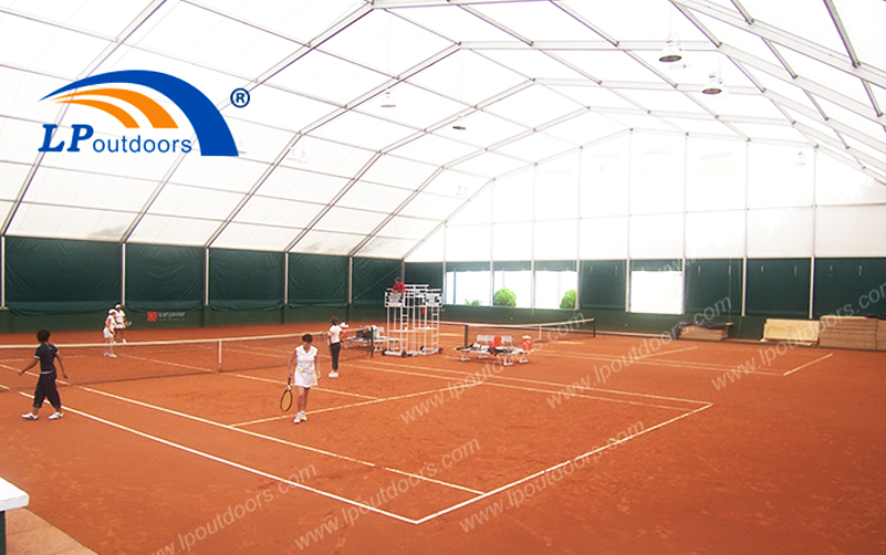High Quality Aluminum Frame Polygon Sports Tent