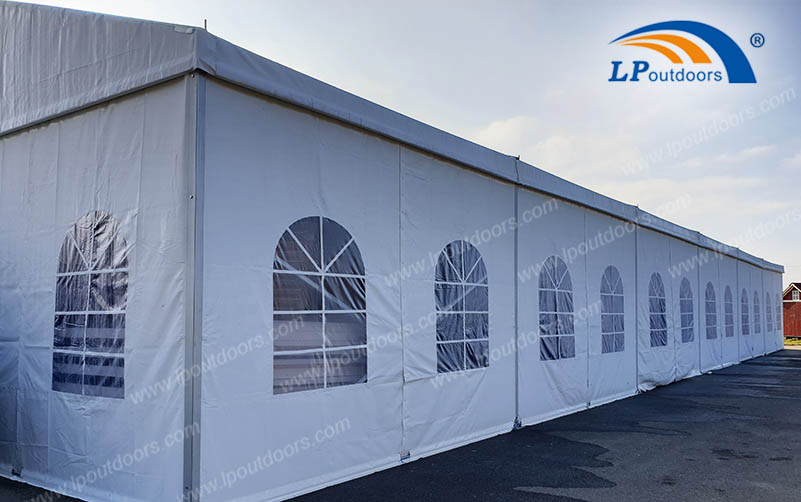 Large Clearspan Temporary Structure Building Industrial Tent As
