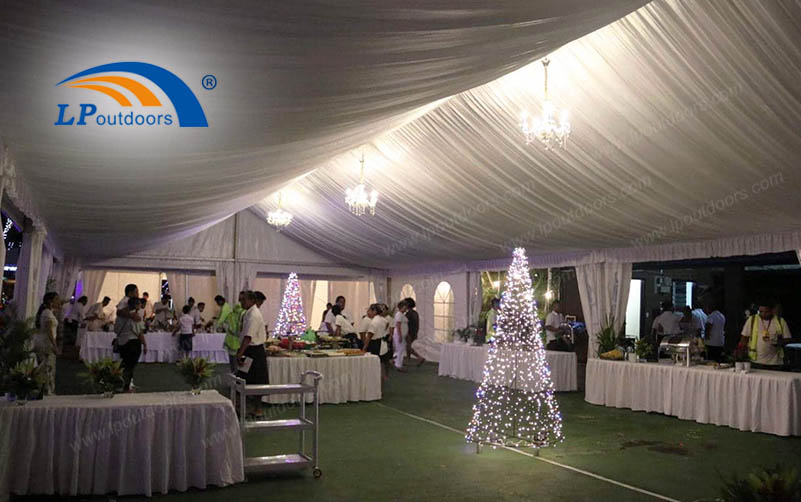 How Does LP Outdoors Customized Celebration Party Tent Make Your Event More Impressive