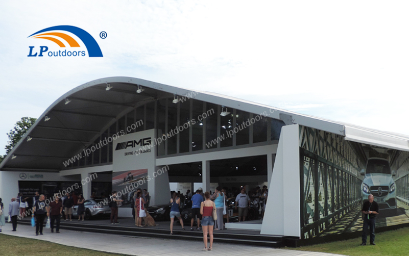 The Well-designed Large Arcum Exhibition Tent Brings Good Results