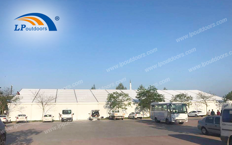 Large Temporary Building A-frame Tents Commonly Used in Tourist Attractions