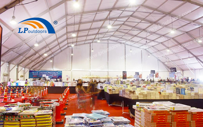 LP Outdoors Temporary Structure Polygon Industrial Tent for Many Different Application